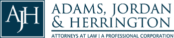 Adams, Jordan & Herrington, P.C. Header Logo